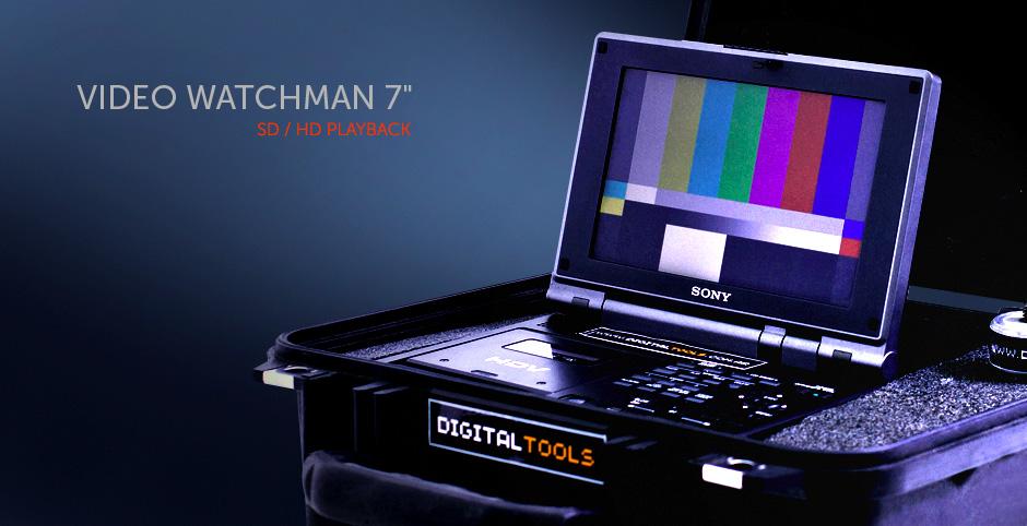 Watchman SONY DV / HDV - Pantalla 7