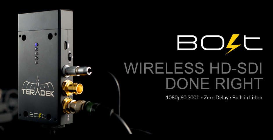 Inalámbrico HD de audio y video - Teradek BOLT