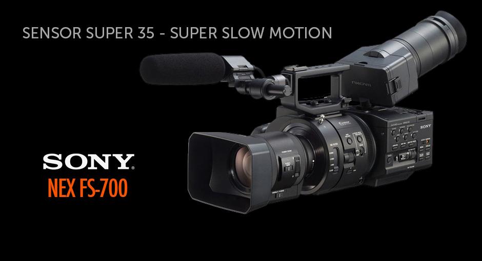 Cámara Sony NEX FS700 - Super Slow Motion