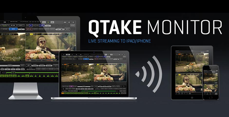 Monitoreo inalámbrico en Ipad para Qtake HD