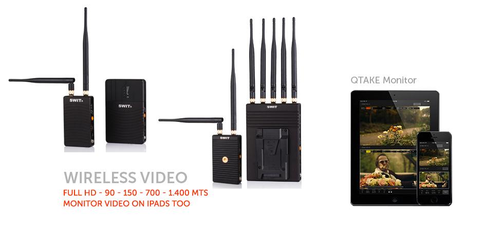 Sistemas de video inalámbrico Full HD desde 90 a 1.400 mts