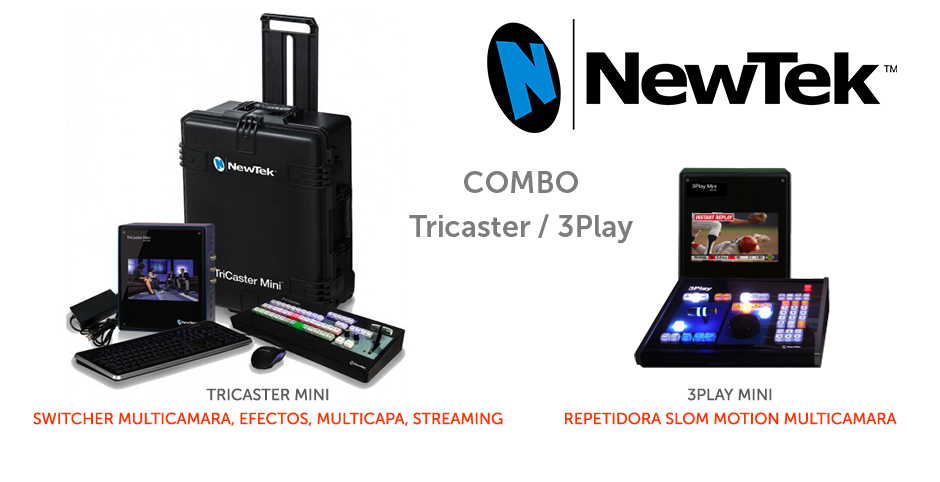Switcher Tricaster / Repetidora 3Play