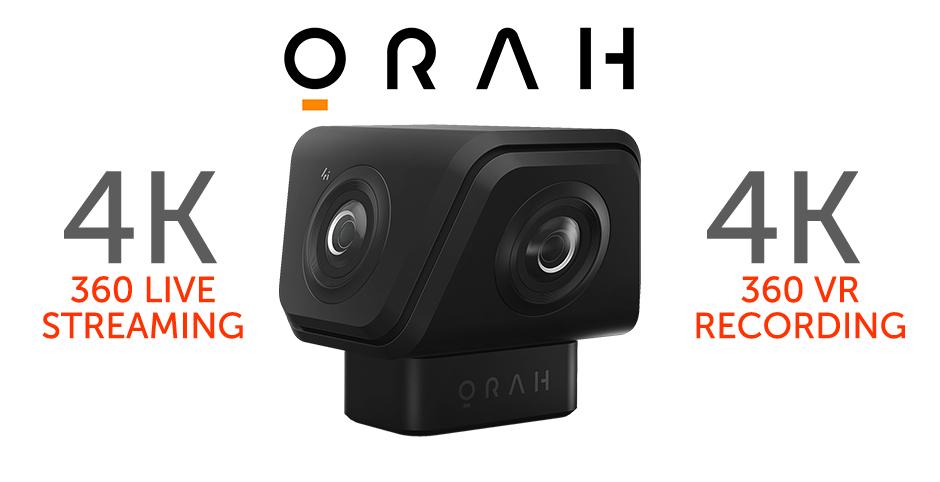 Streaming 360 4K - Cámara Orah 4i